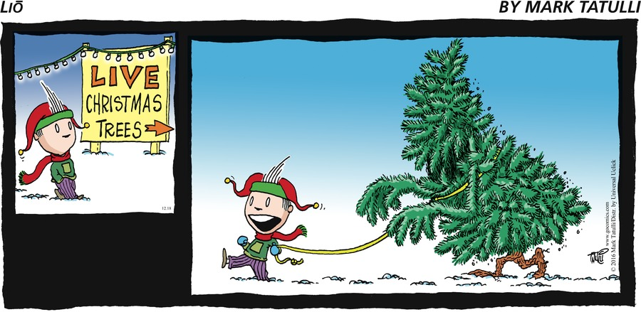 Lio Comic Strip for December 18, 2016