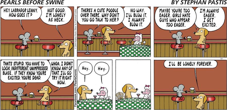 Pearls Before Swine Comic Strip for June 01, 2014