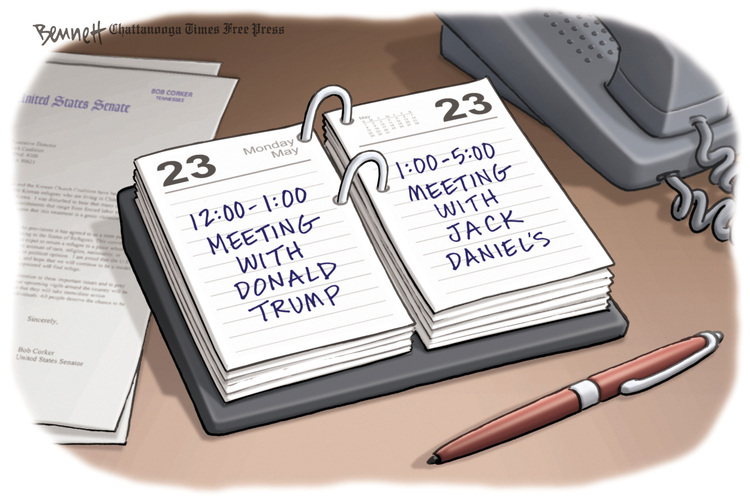 Clay Bennett Comic Strip for May 24, 2016