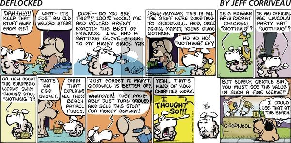 DeFlocked on Sunday October 11, 2009 Comic Strip