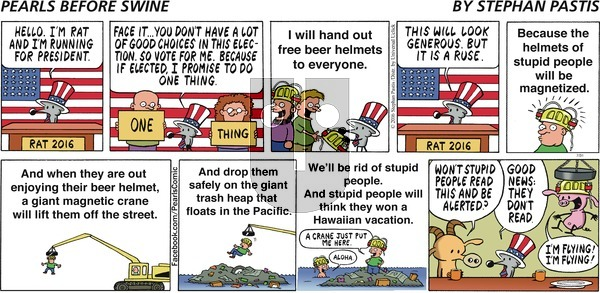 Pearls Before Swine on Sunday July 31, 2016 Comic Strip