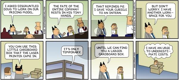 Dilbert - Sunday May 13, 2007 Comic Strip
