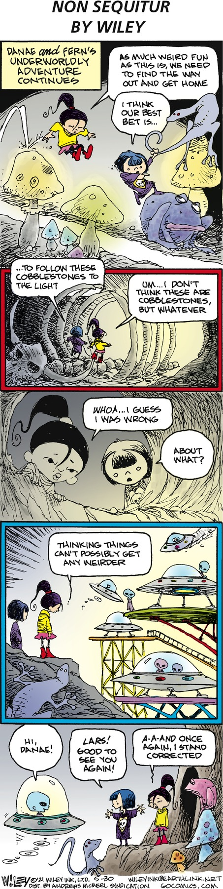 Non Sequitur Comic Strip for May 30, 2021