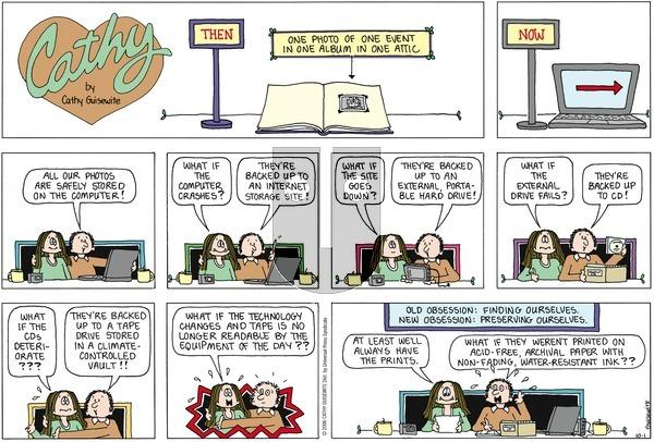 Cathy Classics on Sunday October 1, 2006 Comic Strip