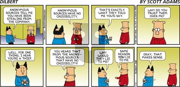 Dilbert on Sunday June 6, 2021 Comic Strip