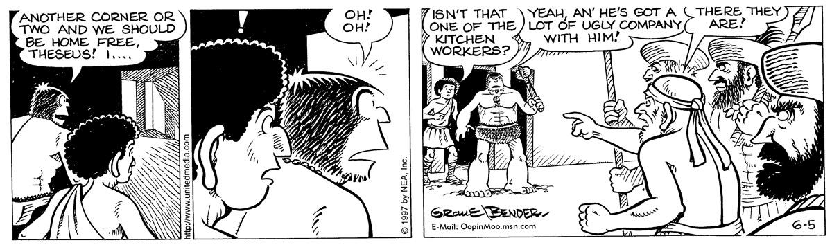 Alley Oop for Jun 5, 1997 Comic Strip