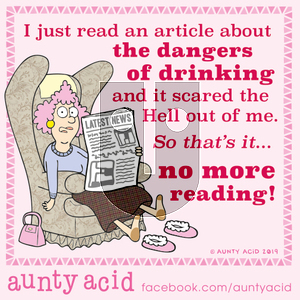 Aunty Acid on Saturday October 12, 2019 Comic Strip