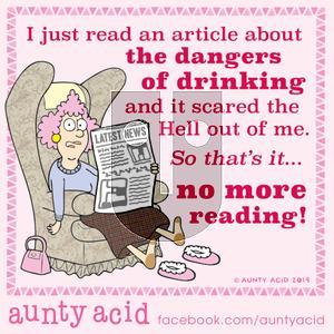 Aunty Acid - Saturday October 12, 2019 Comic Strip