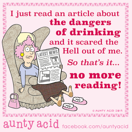 Aunty Acid Comic Strip for October 12, 2019