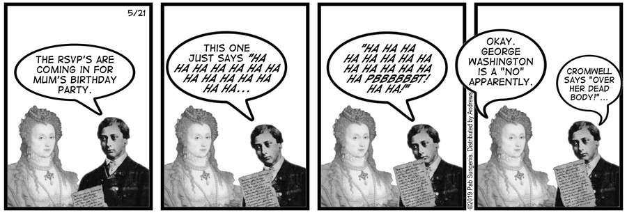 New Adventures of Queen Victoria Comic Strip for May 21, 2019