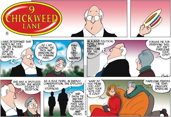 9 Chickweed Lane on Sunday December 28, 2008 Comic Strip