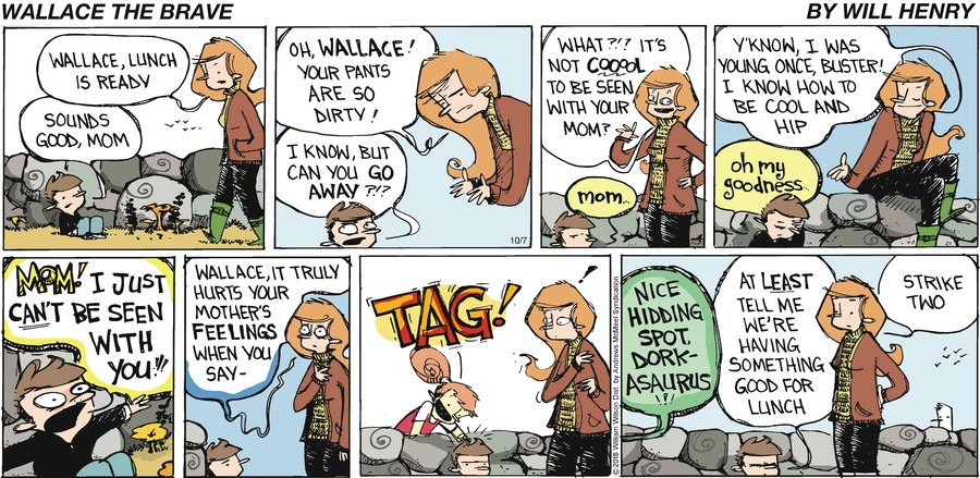 Wallace the Brave Comic Strip for October 07, 2018