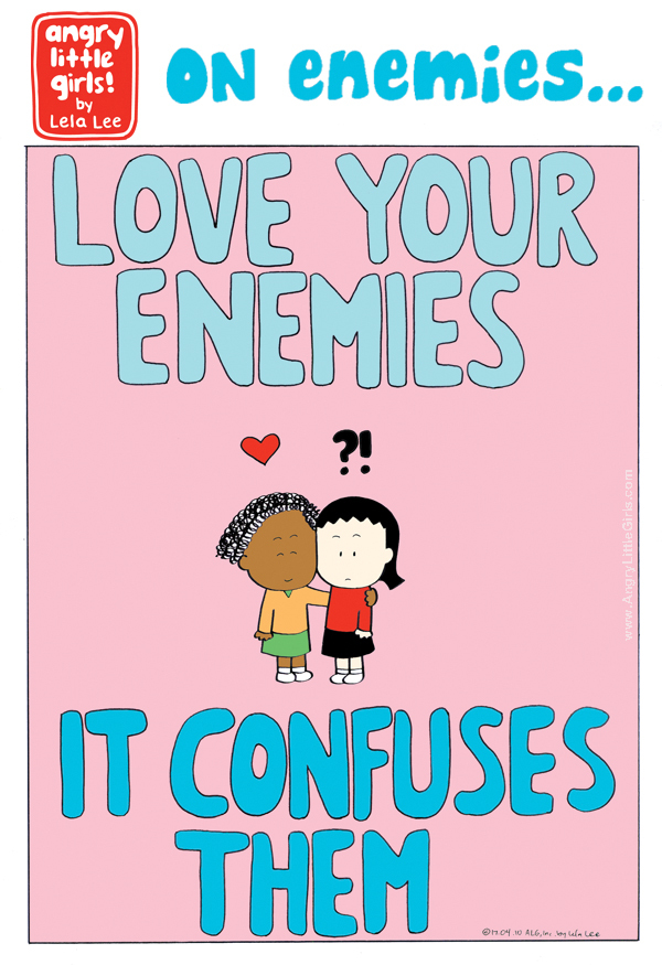 ON ENEMIES... 