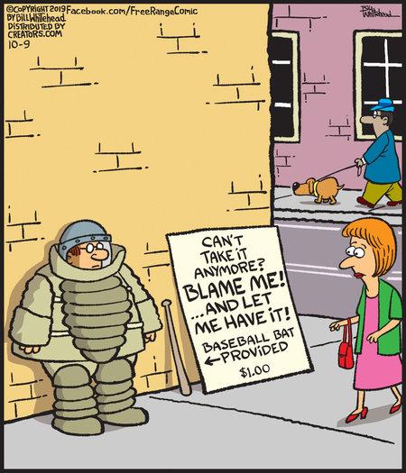 Free Range Comic Strip for October 09, 2019