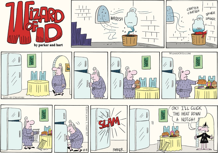 Wizard of Id Comic Strip for October 05, 2014