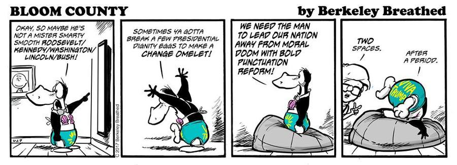 Bloom County 2019 Comic Strip for May 26, 2017