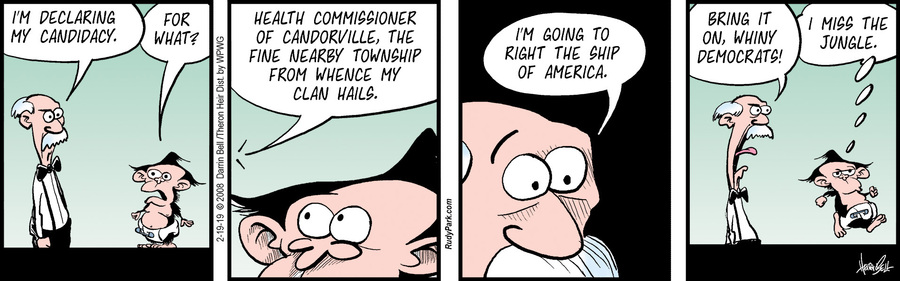 Rudy Park Comic Strip for February 19, 2019