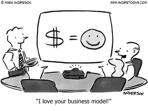 I love your business model!