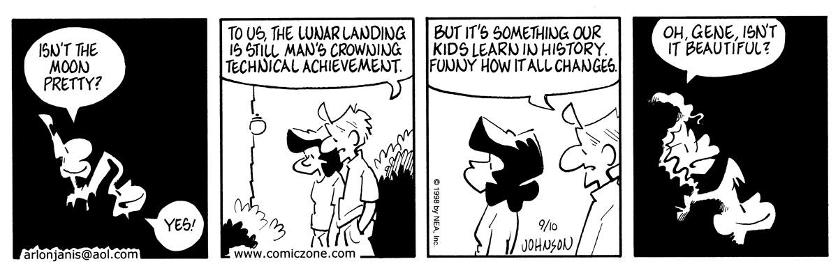 Arlo and Janis for Sep 10, 1998 Comic Strip