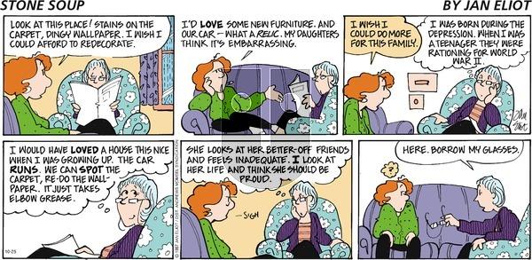 Stone Soup - Sunday October 25, 2020 Comic Strip