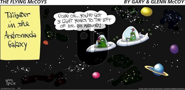 The Flying McCoys on Sunday April 25, 2021 Comic Strip