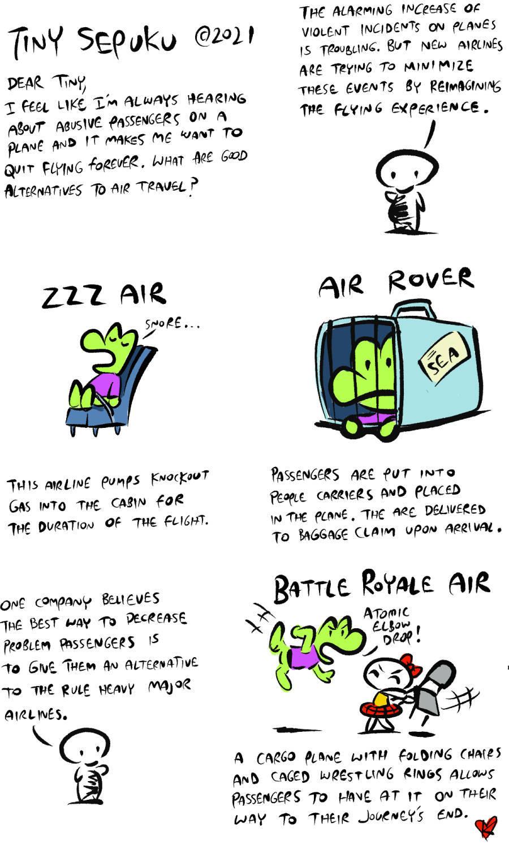 Tiny Sepuku Comic Strip for September 13, 2021