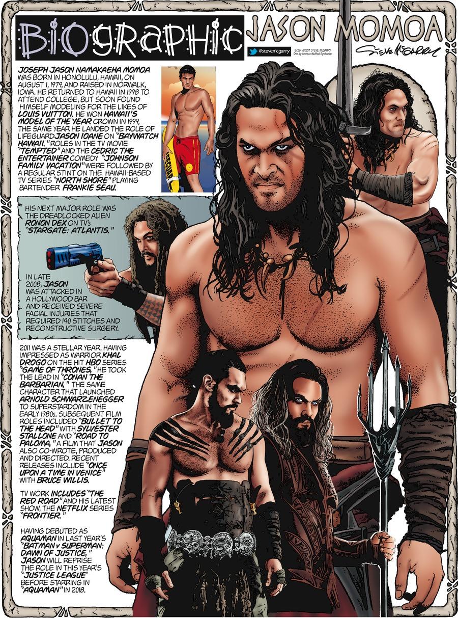Biographic Comic Strip for June 25, 2017
