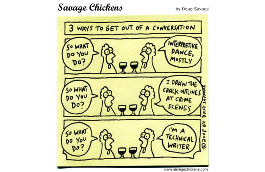 3 Ways to get out of a conversation.