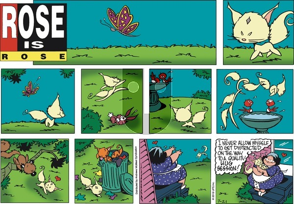 Rose is Rose - Sunday July 21, 2019 Comic Strip