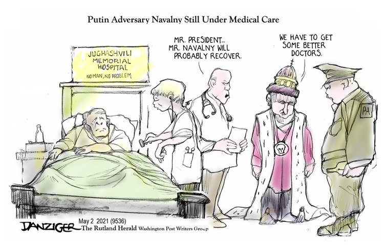Jeff Danziger Comic Strip for May 02, 2021