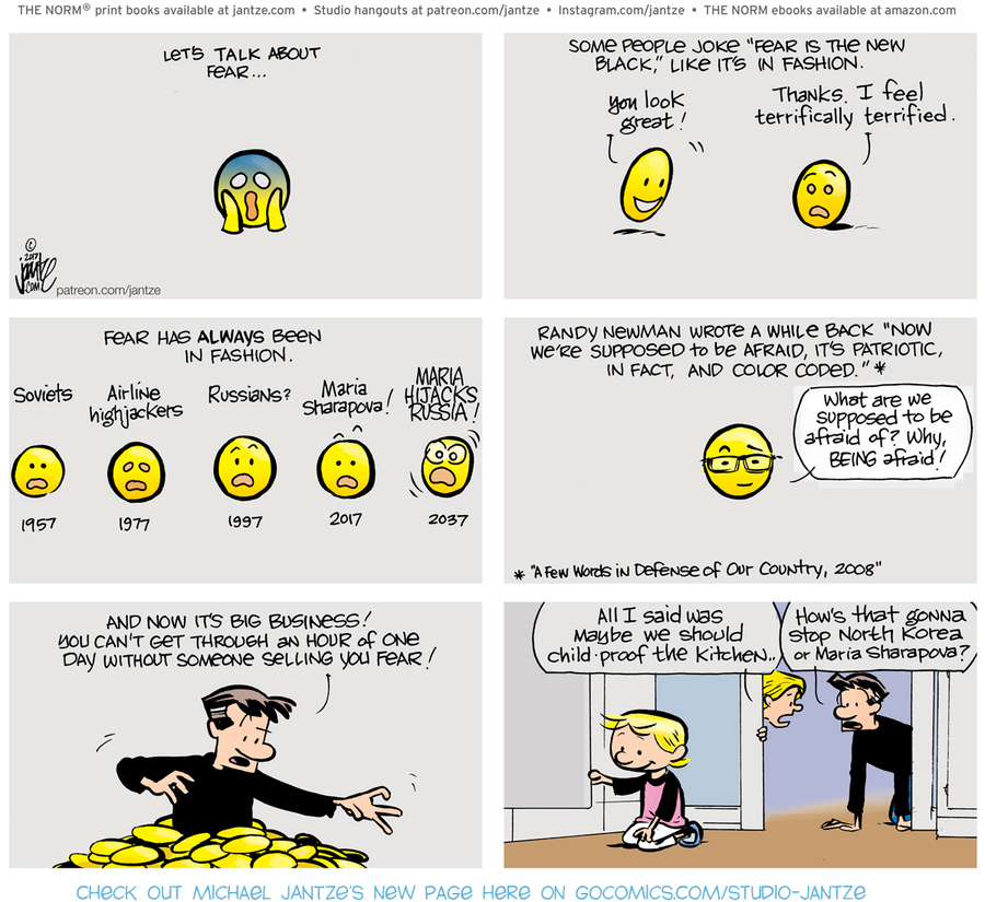 The Norm Classics Comic Strip for April 25, 2021