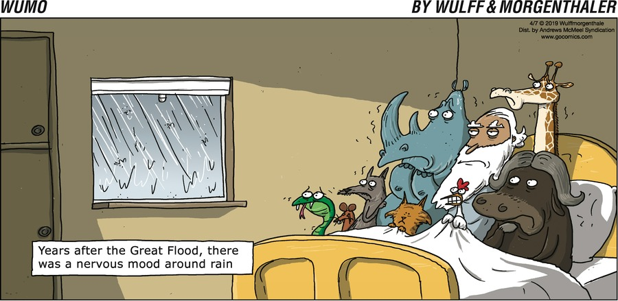 WuMo Comic Strip for April 07, 2019
