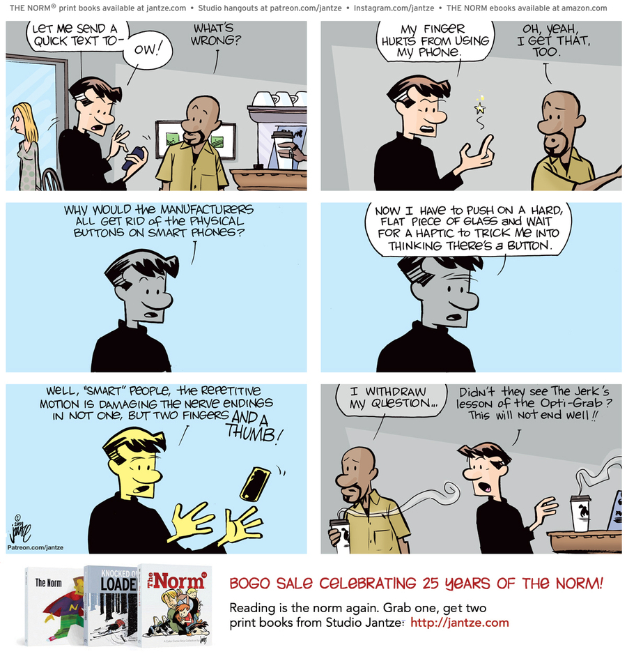 The Norm Classics Comic Strip for June 08, 2021