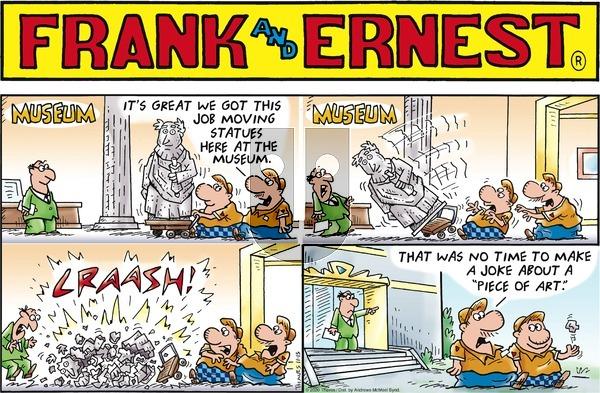 Frank and Ernest - Sunday November 15, 2020 Comic Strip