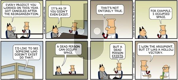 Dilbert - Sunday May 20, 2007 Comic Strip