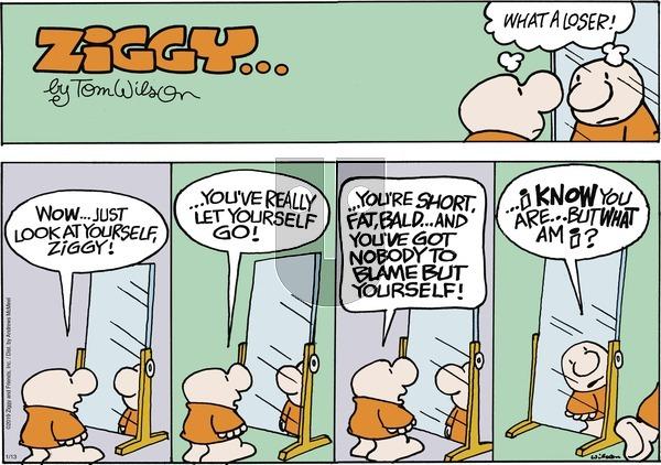 Ziggy on Sunday January 13, 2019 Comic Strip