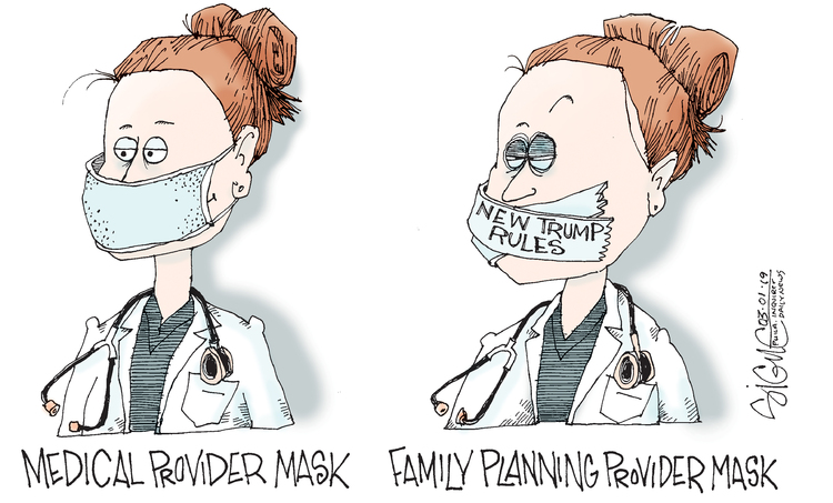 Signe Wilkinson by Signe Wilkinson for March 01, 2019