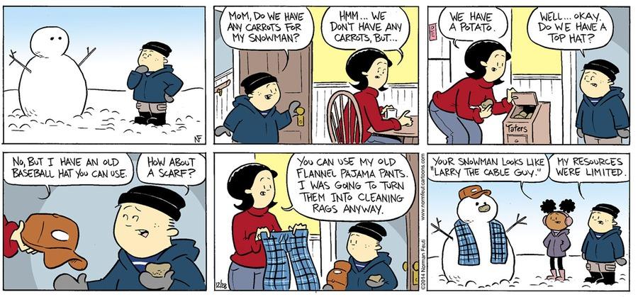 Gil Comic Strip for December 30, 2018