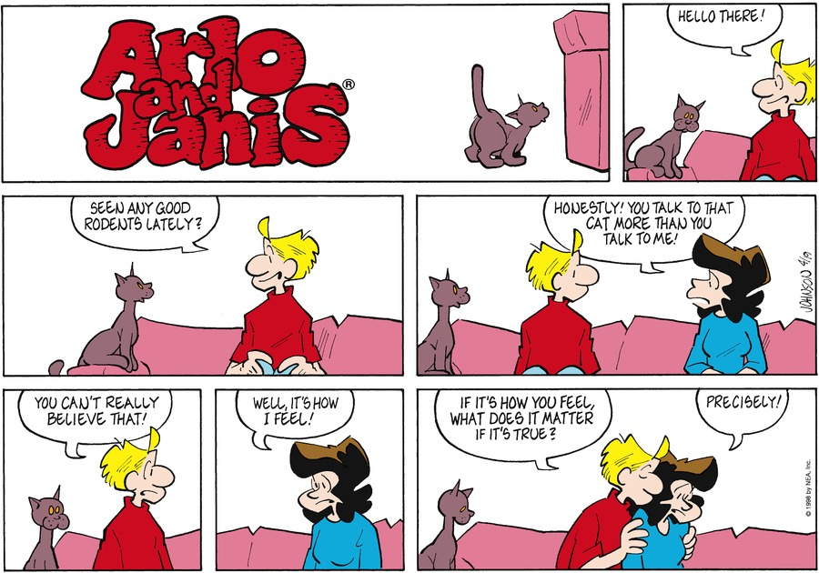 Arlo and Janis for Apr 19, 1998 Comic Strip