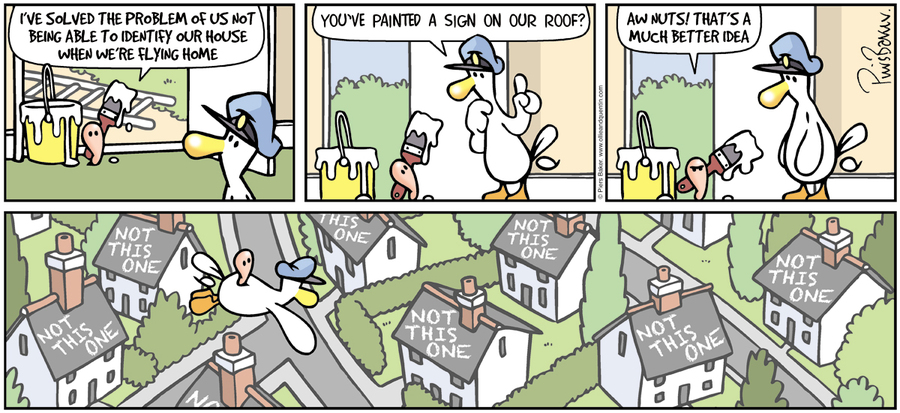 Ollie and Quentin Comic Strip for February 14, 2016