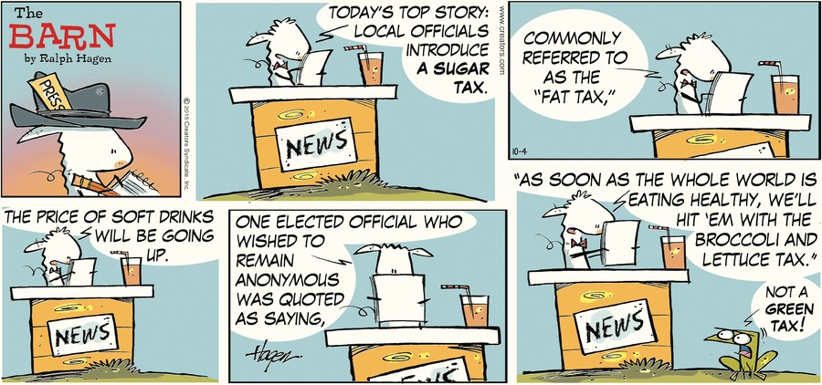 The Barn Comic Strip for October 04, 2015