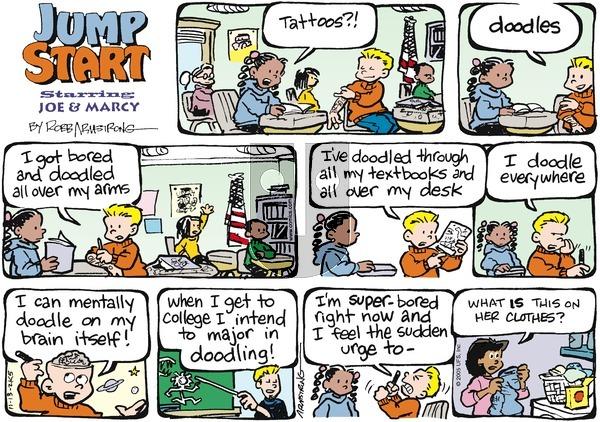 JumpStart on Sunday November 13, 2005 Comic Strip