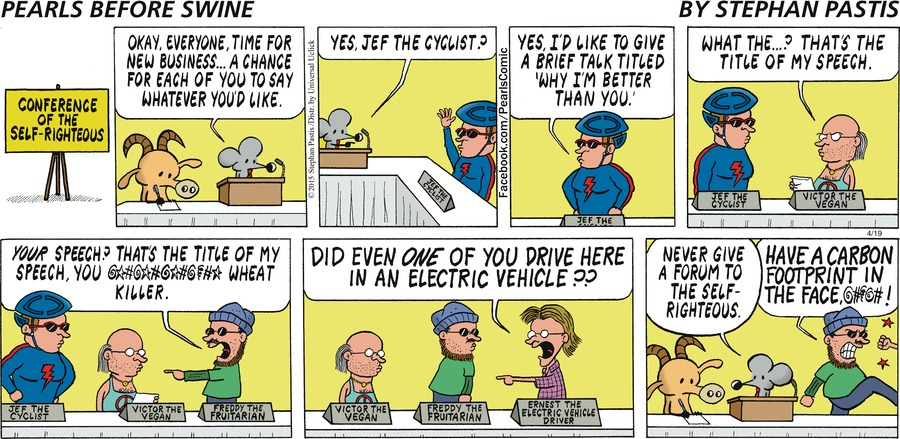Pearls Before Swine Comic Strip for April 19, 2015