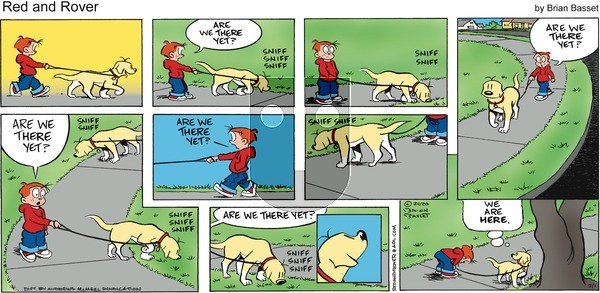 Red and Rover on Sunday March 1, 2020 Comic Strip