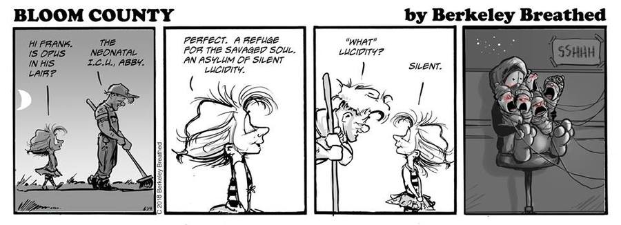 Bloom County 2019 Comic Strip for June 21, 2018