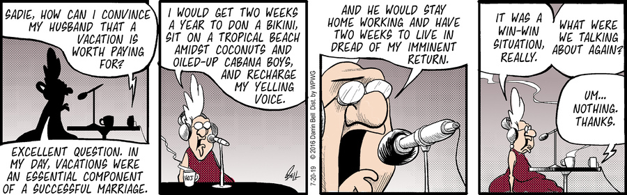 Candorville Comic Strip for July 20, 2019