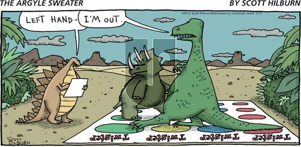 The Argyle Sweater on Sunday February 12, 2012 Comic Strip