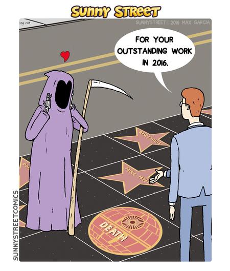 Sunny Street Comic Strip for December 28, 2016