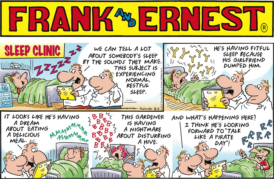Frank and Ernest Comic Strip for August 05, 2018
