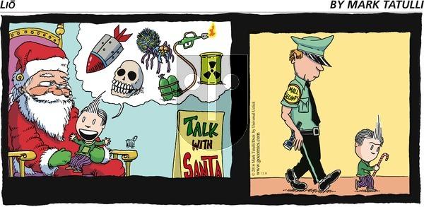 Lio on Sunday December 11, 2016 Comic Strip